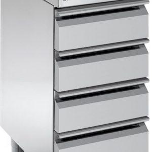 Blok stolovi fioke – krilna vrata - hoper